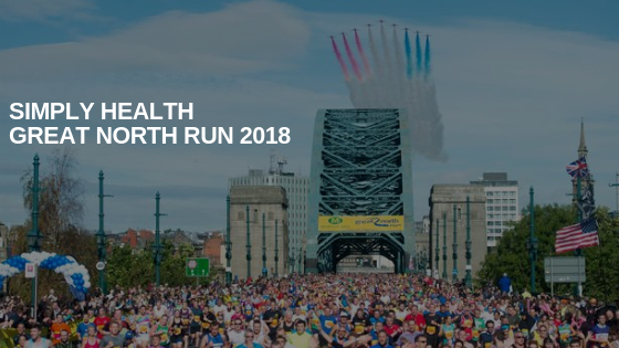 Simply Health Great North Run 2018